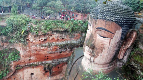 Big Buddha of Leshan, China