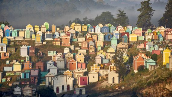 Cimetière de Chichicastenango, Guatemala