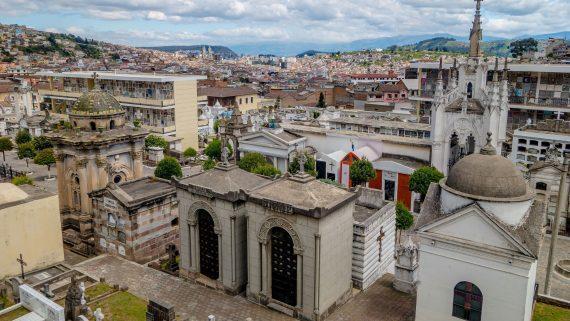 Cimetière de San Diego à Quito, Équateur