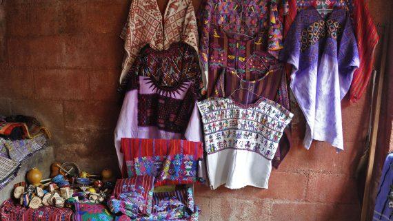Sacatepéquez typical costume
