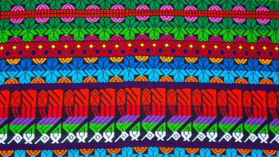 Typical prints of Chimaltenango