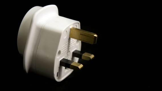 Plug adapter for traveling to United Kingdom