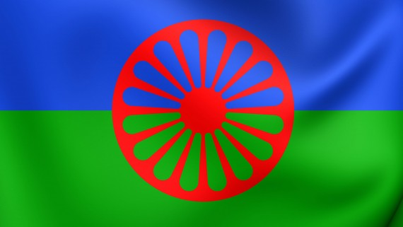 Flag of the gypsy people