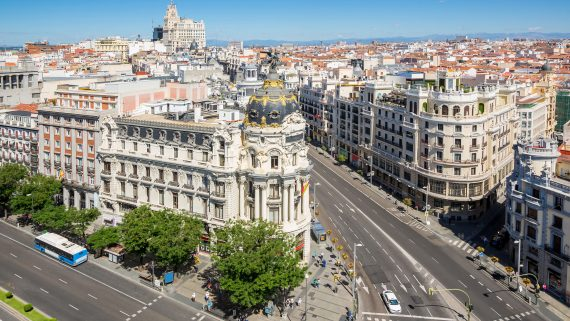 Where to stay in Gran Vía, Madrid