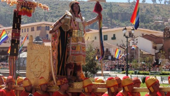 Inti Raymi in Quito, Ecuador