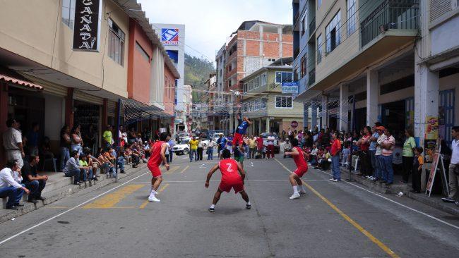 Ecuavóley in Piñas, Ecuador