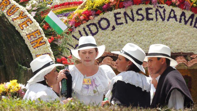 Défilé Silleteros, Medellín, Antioquia