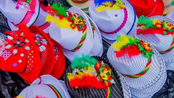 Accessoires pour le carnaval de Barranquilla