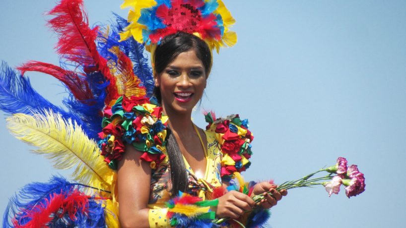 Typical costumes of Colombia by regions
