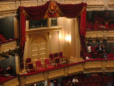 Royal Box of the Royal Theater of Madrid
