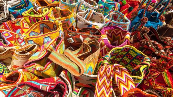 Sacs à dos typiques de La Guajira