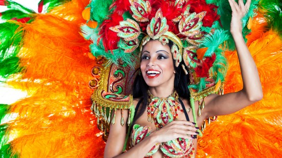 Female samba costume