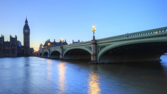 What time does nightfall in London in winter?