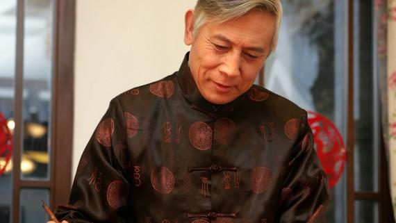 Costume traditionnel Hanfu pour hommes en Chine