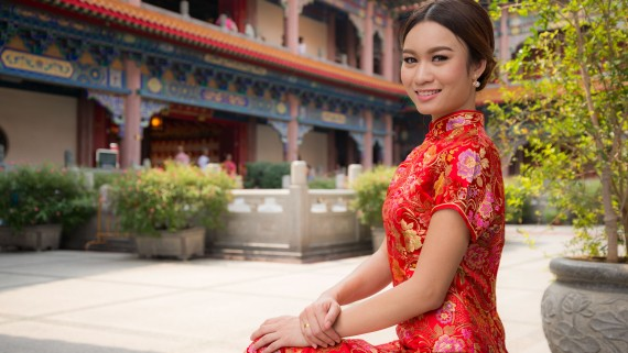 Qipao: costume traditionnel des femmes chinoises