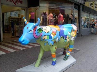 Cow Parade in San José