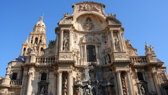 The Cathedral of Santa Maria in Murcia