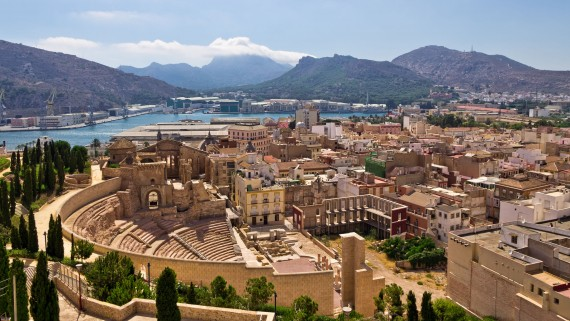 The Roman Theater of Cartagena, Murcia