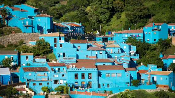 Juzcar (Málaga), known as the Smurfs village