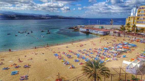 Plage de Las Canteras, Las Palmas de Gran Canaria