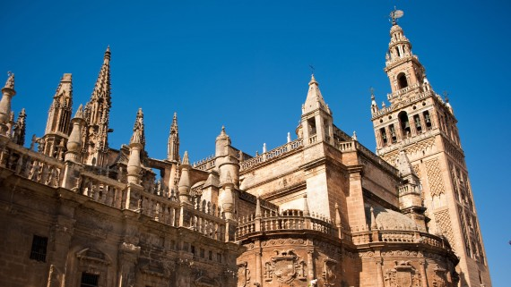 La Giralda: the bell tower of the Cathedral of Seville