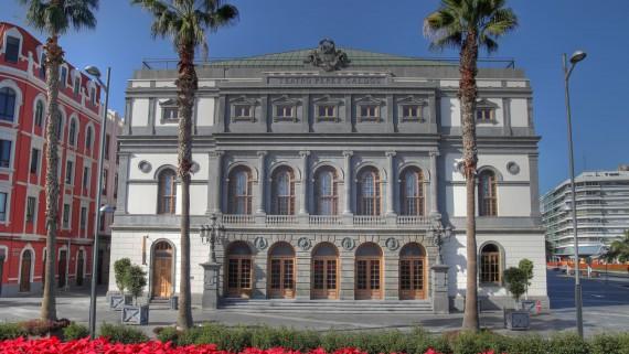 Théâtre Pérez Galdós, Las Palmas de Gran Canaria, Espagne