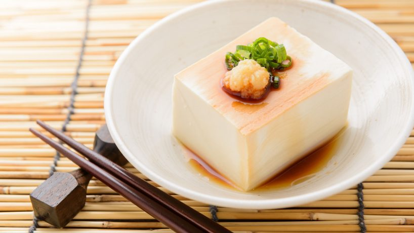 First steps in Japanese food Tofu