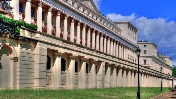 Royal Society building in London