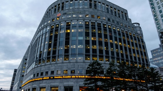 Reuters Headquarters in London