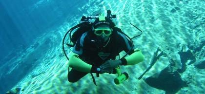 Diving in Javea