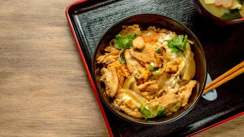 First steps in Japanese food Oyakodon