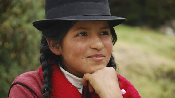 Los kollas, indigenous community of northern Argentina