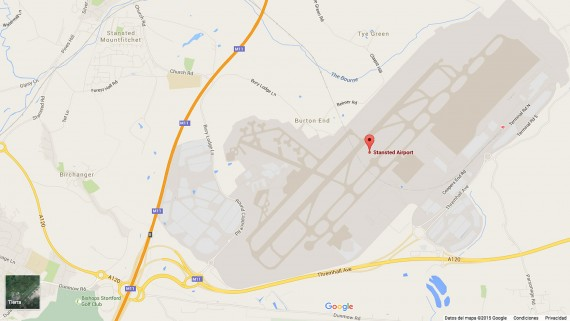 London Stansted Airport Map