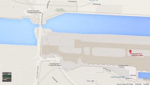 London City Airport Map