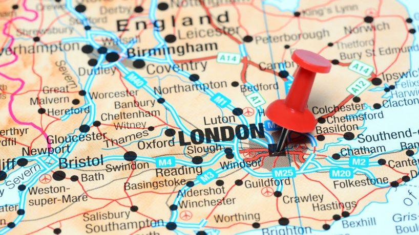 London maps