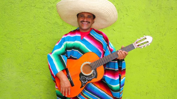 The Mexican poncho