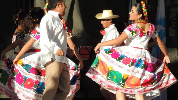 Hidalgo typical costume