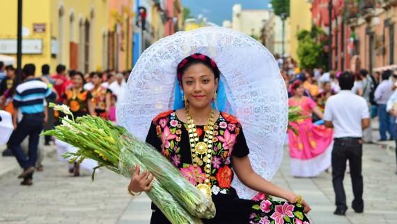 Oaxaca traditional costume