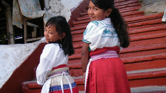 Michoacán typical costume