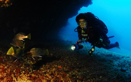 Plonger à Formentera