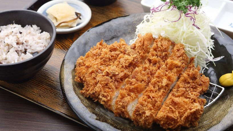 First steps in Japanese food Tonkatsu