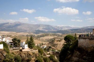 Rural tourism in Malaga round