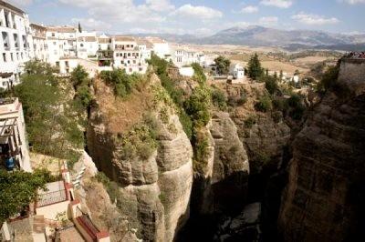 Rural tourism in Malaga landscape in Ronda
