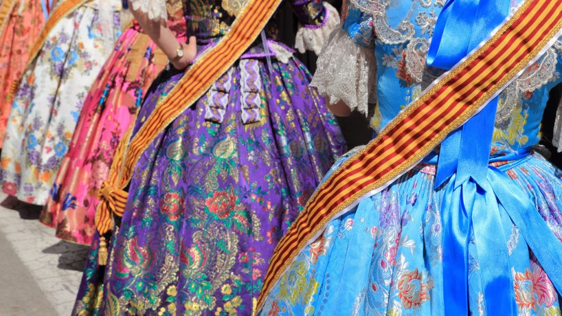 Valencian typical costume