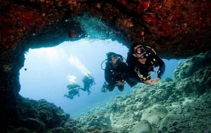 Dive in Denia