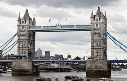 Tamesis River in London