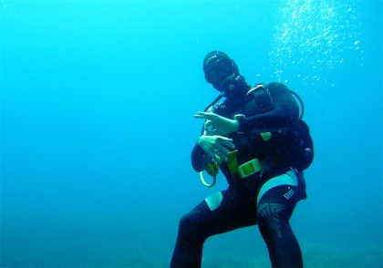 Diving in Formentera