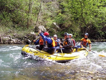 Rafting dans les Asturies