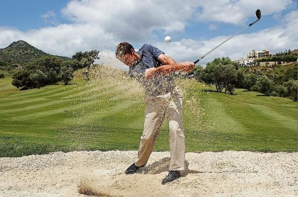 Golf course in Marbella