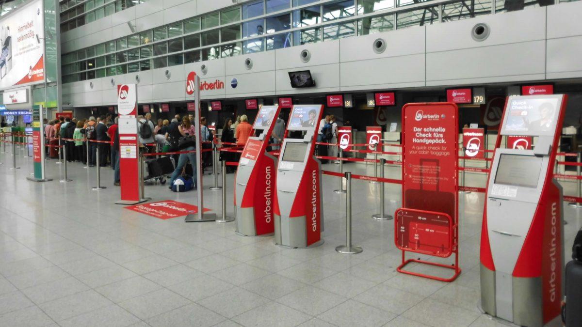 Hand luggage at Air Berlin
